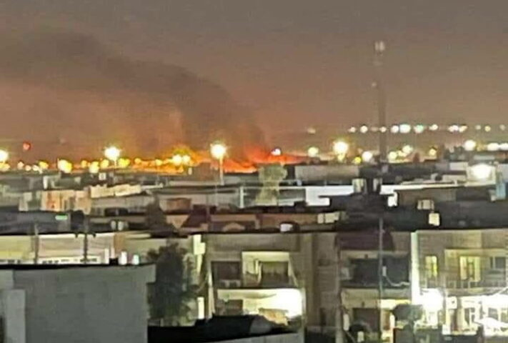 "NAPADNUT AMERIČKI AERODROM! ""Erbil"" zasut raketama! /VIDEO/"