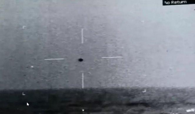 PENTAGON OBJAVIO ŠOKANTAN SNIMAK! Ratna mornarica zabeležila kako NLO uranja u Tihi okean! (VIDEO)