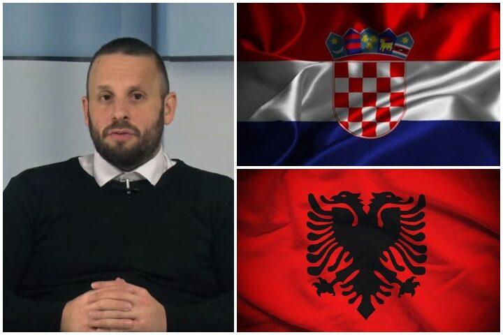 GORAN ŠARIĆ RASTURIO: Istorijska veza ŠIPTARA I HRVATA i šta se krije iza PLANA O HRVATSKOJ BAZI NA KOSOVU (VIDEO)