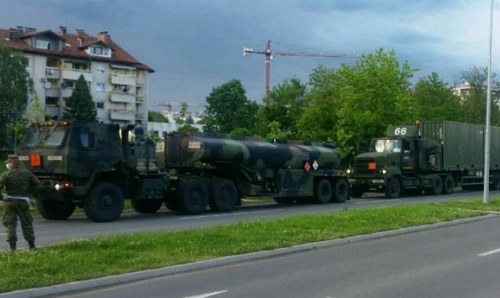 ŠTA SE DEŠAVA? Američka vojna vozila krstare Republikom Srpskom (VIDEO)