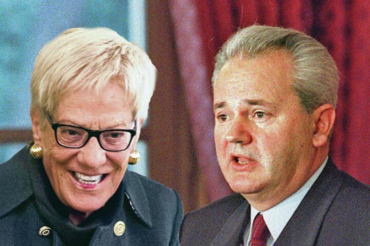 JEZIVO PRIZNANJE KARLE DEL PONTE: Nerviralo me je što je Slobodan Milošević dočekao tako laku, laganu smrt…